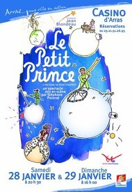 Poster The Little Prince at the Casino d'Arras