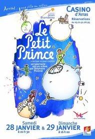Affiche Le Petit Prince au Casino d'Arras