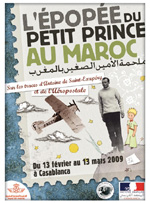 Poster of The Epic History of the Little Prince in Morocco