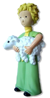 The Little Prince and his sheep