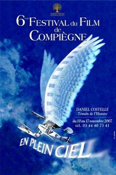 Affiche du 6e Festival du Film de Compiègne