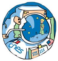 Logo du Petit Prince dans l'espace