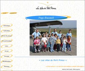Site Les ailes du Petit Prince