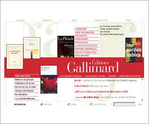 Site des Editions Gallimard