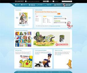 Site des Editions Egmont