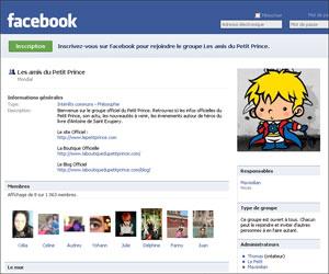 Groupe du Petit Prince sur Facebook