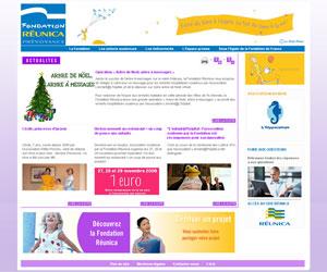 Site de la Fondation Réunica