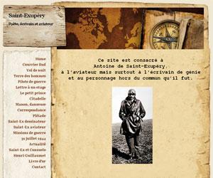 Site Saint-Exupéry - Poète, écrivain et aviateur