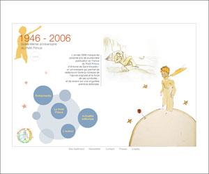 Site du Soixantième anniversaire du Petit Prince - Gallimard
