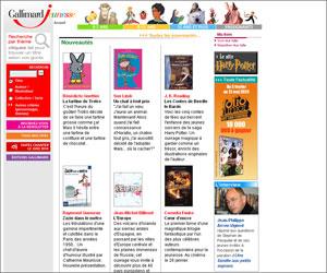Site des Editions Gallimard Jeunesse