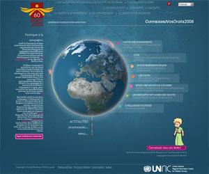 """Site UNRIC - """"Campagne Connaissez-vous vos droits ?"""""""