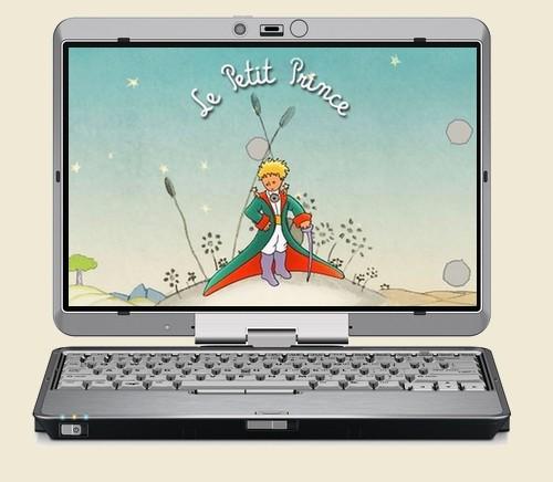 Le teaser du site du Petit Prince
