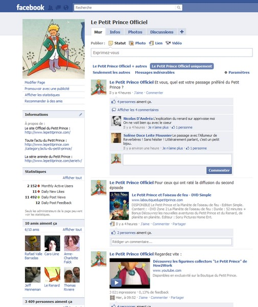 Soyez l'ami du Petit Prince…