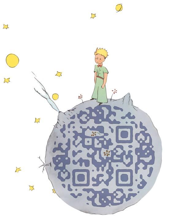 Guettez le QR code du Petit Prince !