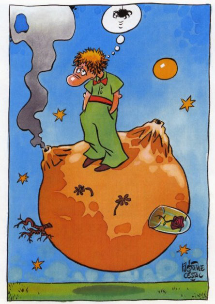 Des dessins pour le Petit Prince…