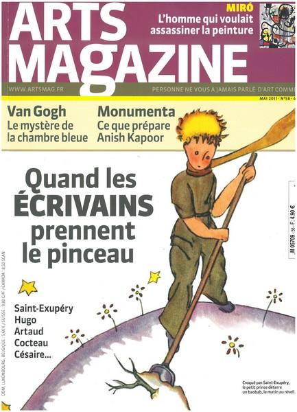 Saint-Ex et le Petit Prince à la une d'Arts Magazine !