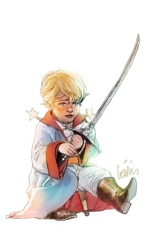 Le Petit Prince vu par Leinil Francis Yu