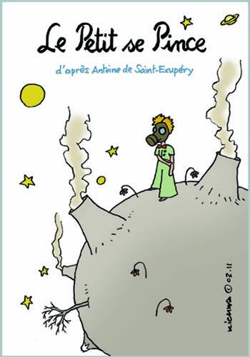 Le Petit Prince vu par Kichka…