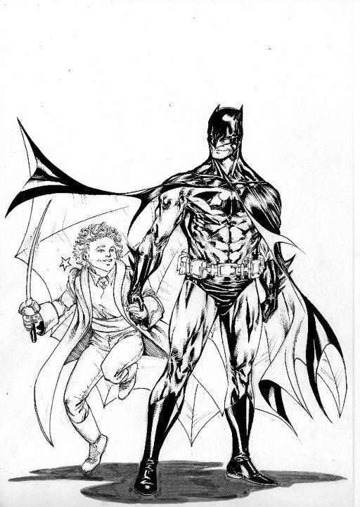 Le Petit Prince et Batman !