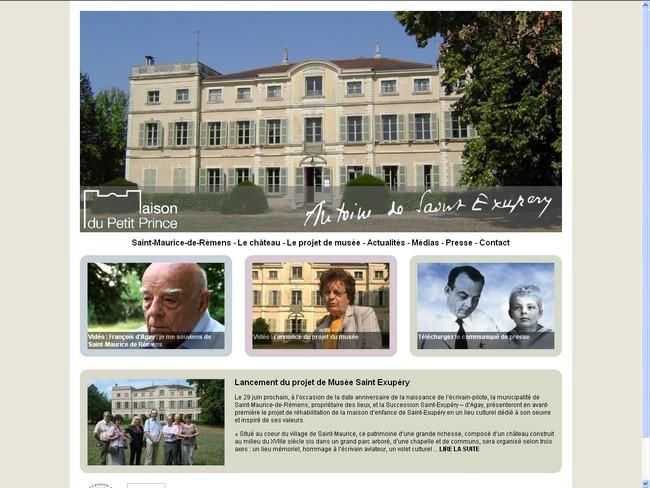Un site Internet pour la Maison du Petit Prince
