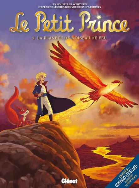 Les couvertures des B.D du Petit Prince !