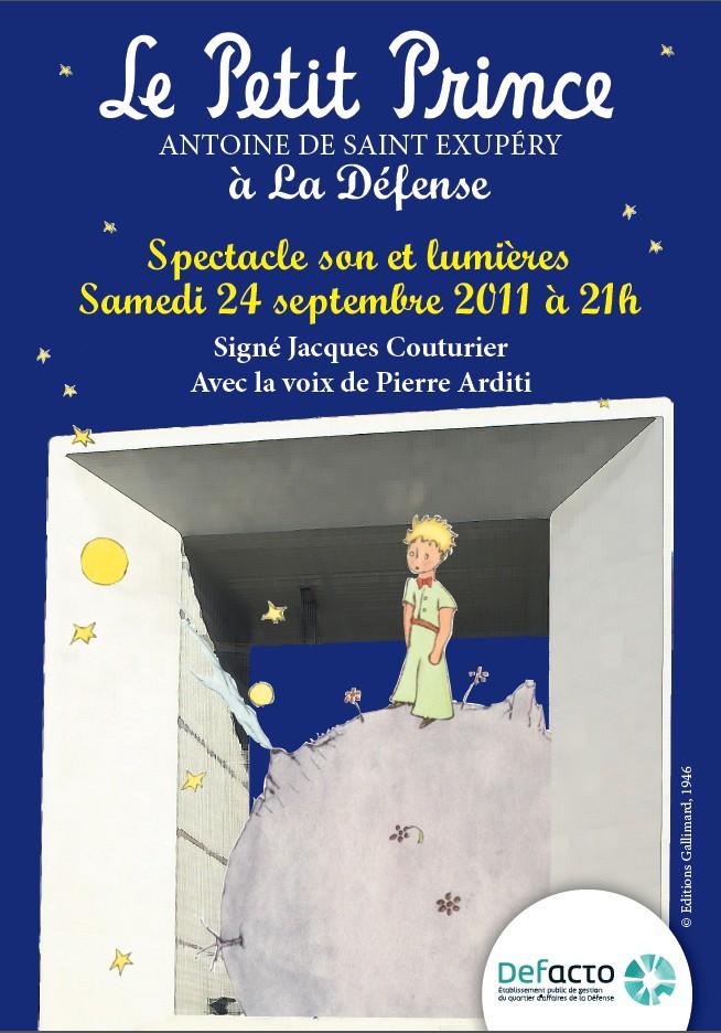 Prochainement : Le Petit Prince s'offre la Défense