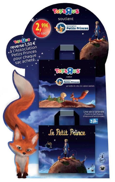 Des sacs Petit Prince pour l'Association Petits Princes