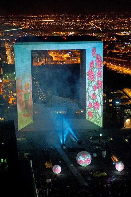 Dernière minute : Photos du Spectacle de La Défense