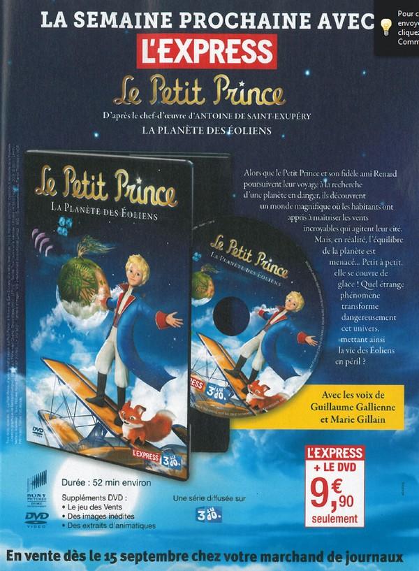 Demain : un DVD dans l'Express
