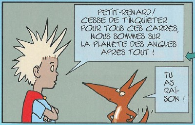 Le Petit Prince par Moebius (2ème partie)