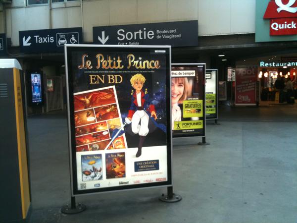 Vu à la gare Montparnasse !