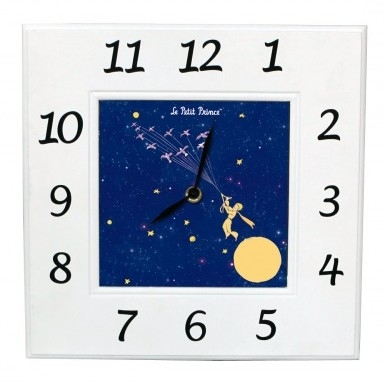 Idée cadeau : l'horloge Petit Prince