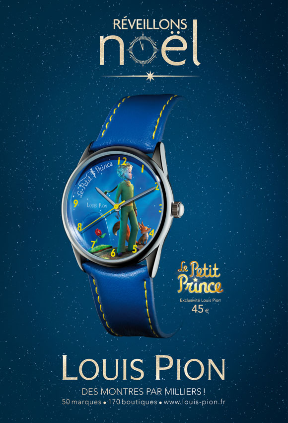 Louis Pion à l'heure du Petit Prince