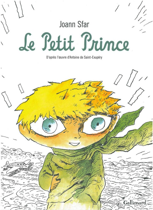 Curieux ou collectionneurs le Petit Prince de Sfar en noir et blanc !