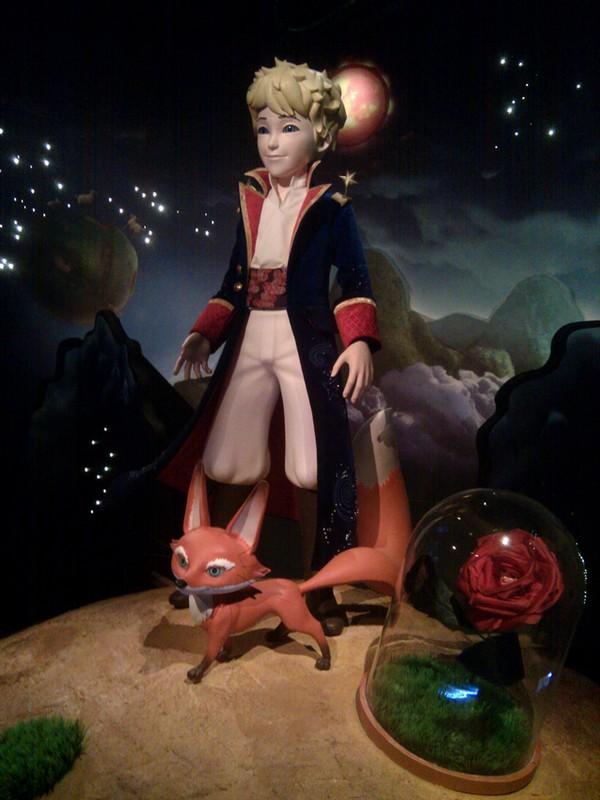 Grévin : Le Petit Prince à la télé !