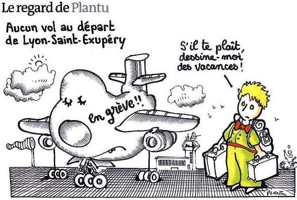 Le Petit Prince dans le journal «Le Monde»