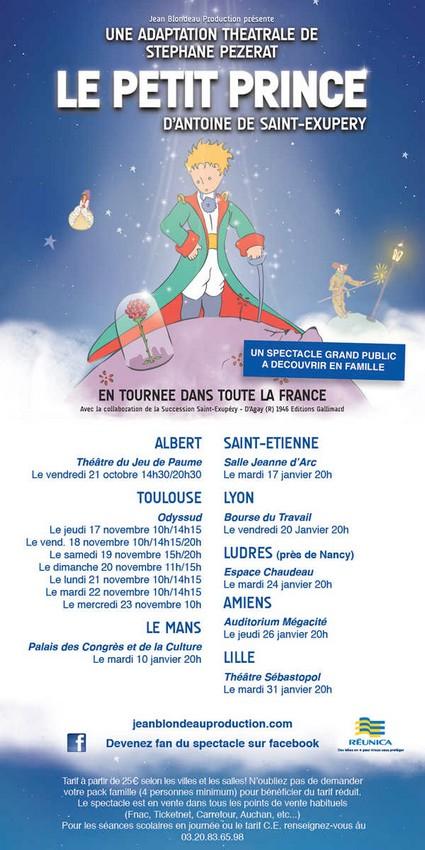 Le Petit Prince en tournée
