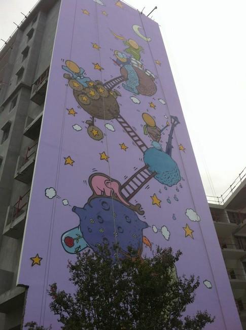 Fresque le Petit Prince