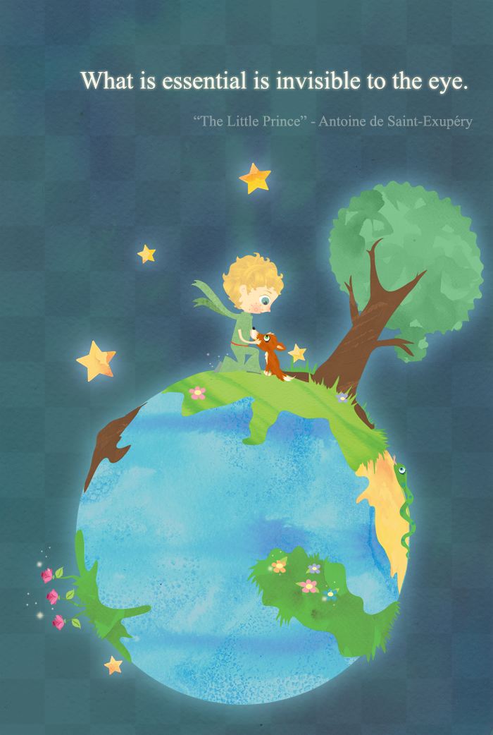 15 Quotes From The Little Prince That Will Make Your: Fan Art Friday #15