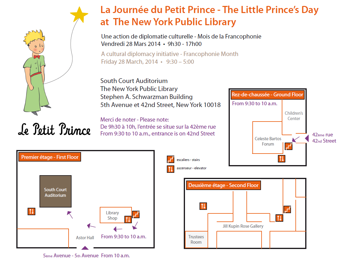 Little Prince New York the little prince's day ! – the little prince