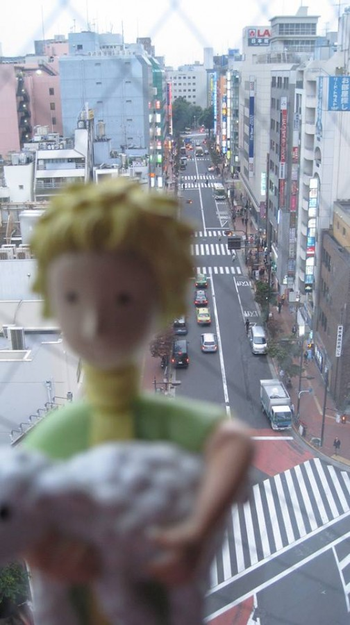 à Tokyo (Marylène Le Bihan)