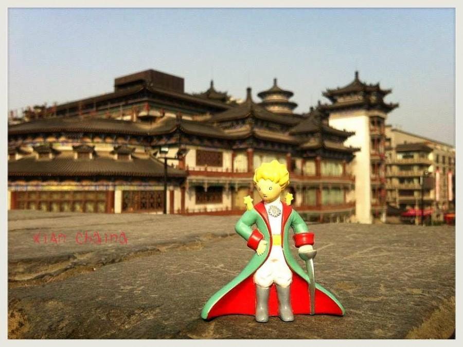 Anunya Pholchan - china Xian city wall