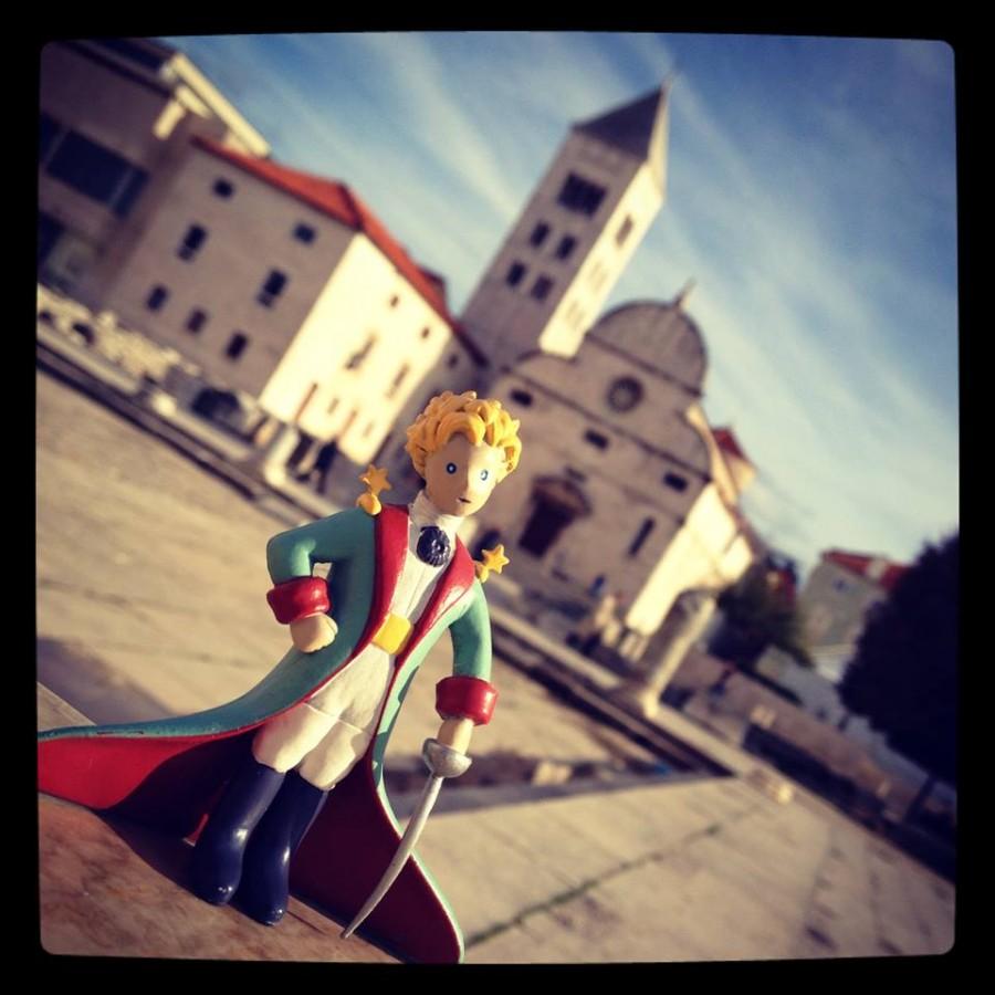 Le Petit Prince à Zadar en Croatie