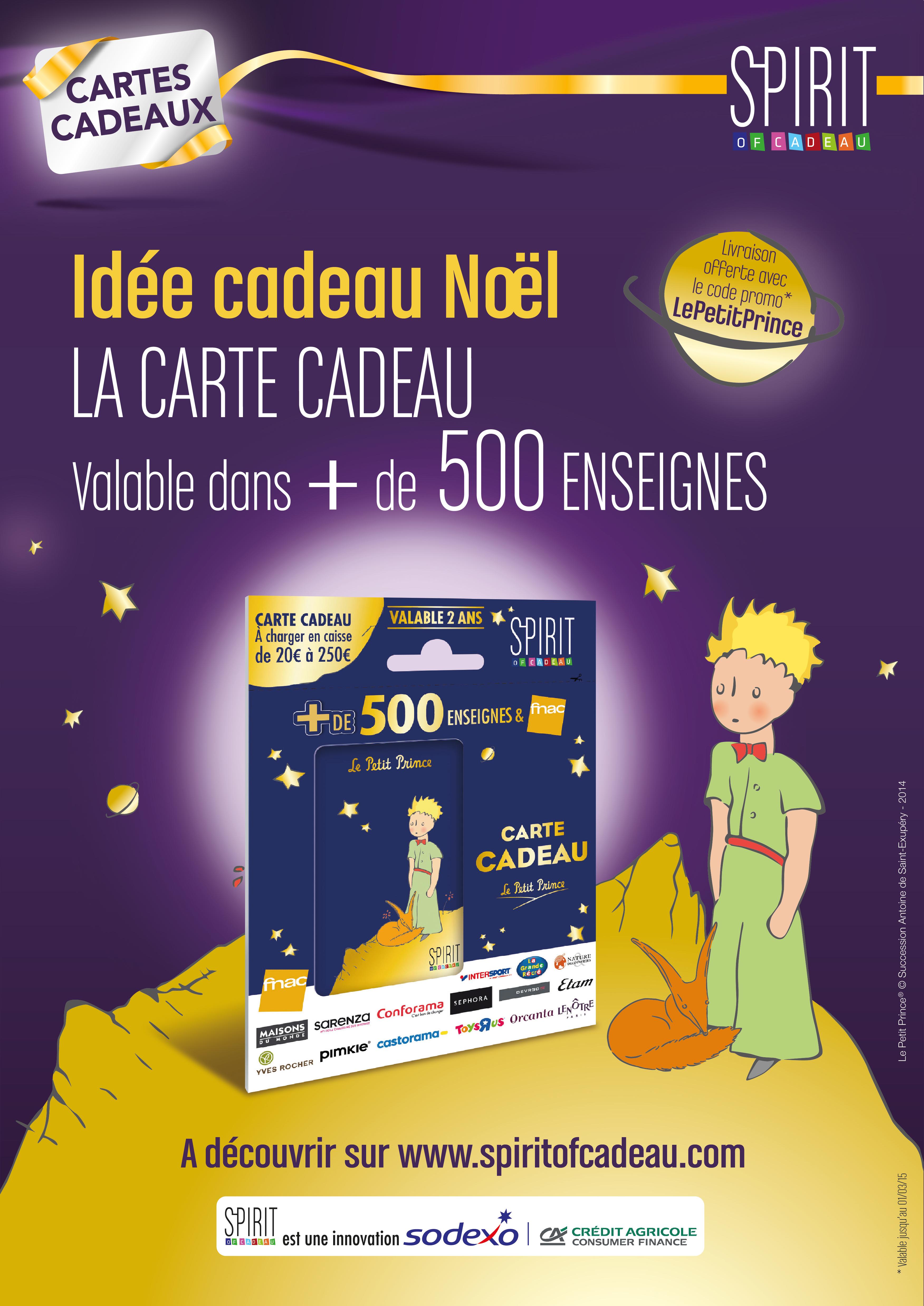 Un Code Promo Pour Les Cartes Spirit Of Cadeau Le Petit Prince