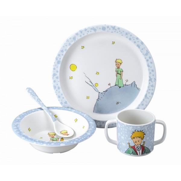 coffret-repas-le-petit-prince-4-pieces-bleu