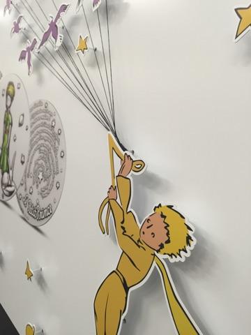 Le Petit Prince 2015 Vitrine Métro Pont Neuf Détail 1