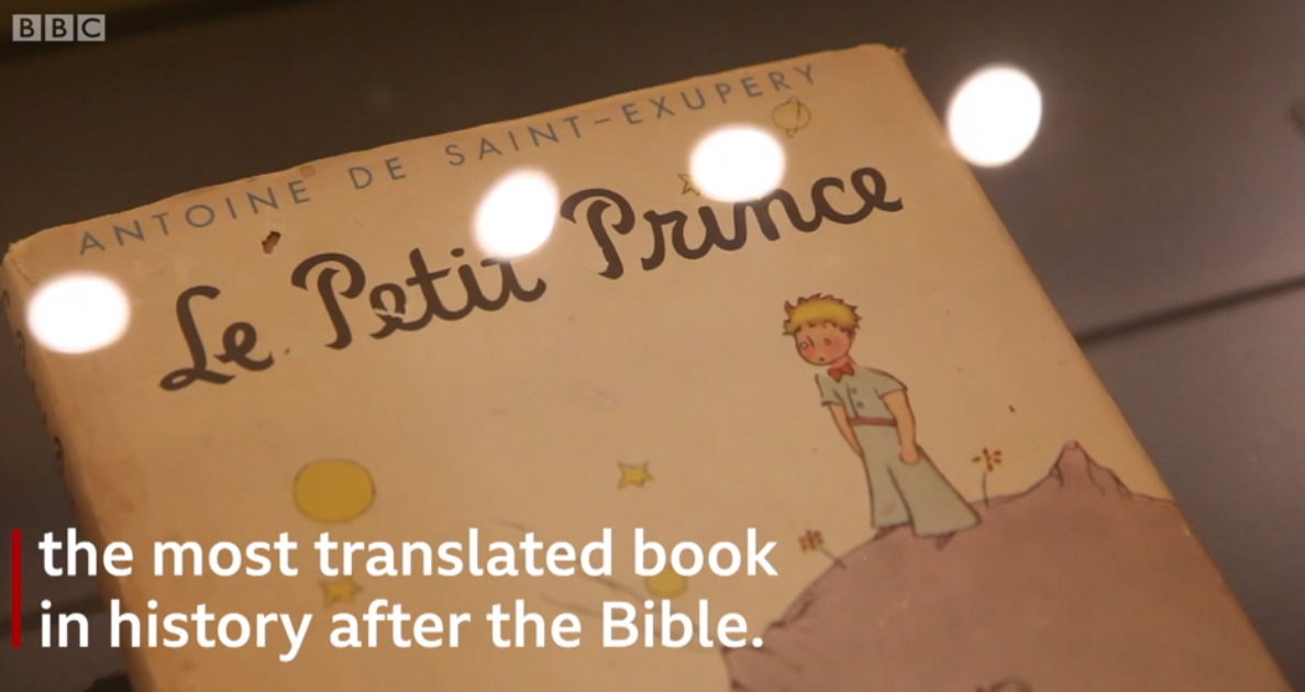 Le Petit Prince sur la BBC!