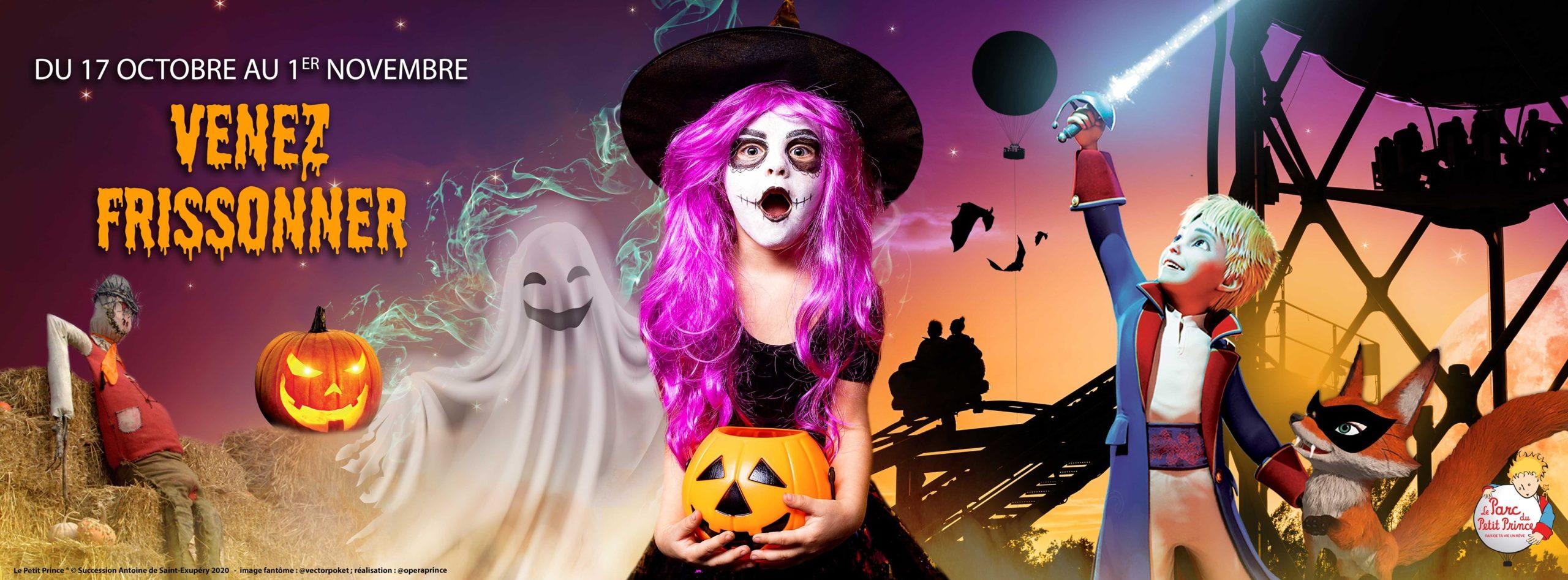Venez fêter Halloween au Parc du Petit Prince !