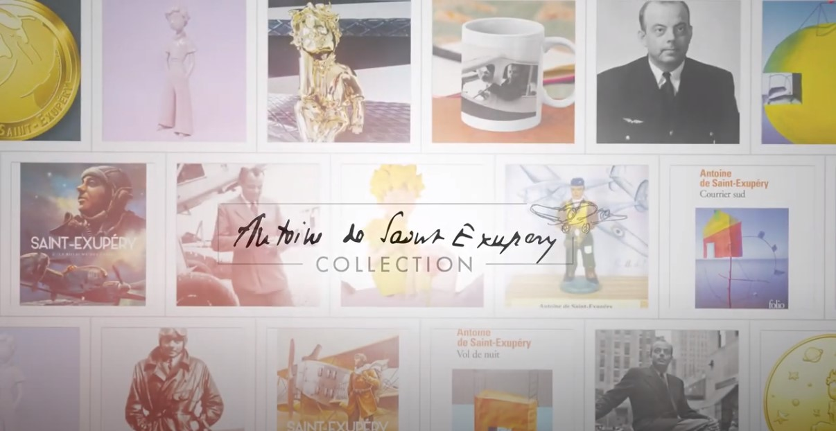 Saint-Exupéry Collection lance sa chaîne You Tube !