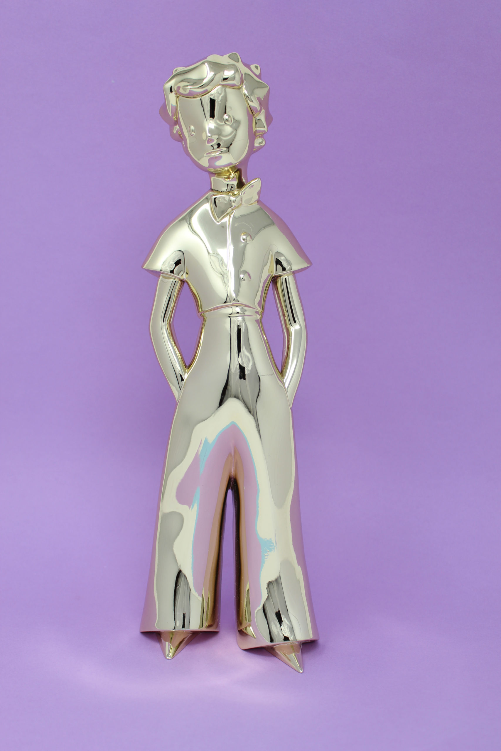 Maintenant disponible : Figurine Le Petit Prince Gold x Neamedia Icons